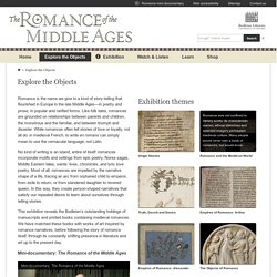 Explore the Objects – The Romance of the Middle Ages