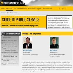 Explore Public Service Careers