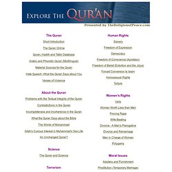 Explore the Qur'an (Taqiyya-free)