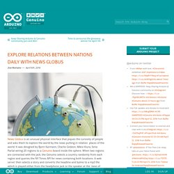 Explore relations between nations daily with News Globus