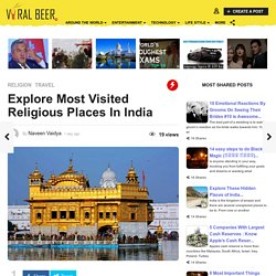 Explore Most Visited Religious Places In India