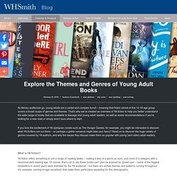 Explore the Themes and Genres of Young Adult Books - WHSmith Blog