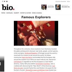 Famous Explorers - Biography.com