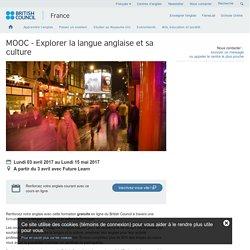 MOOC - Explorer la langue anglaise et sa culture