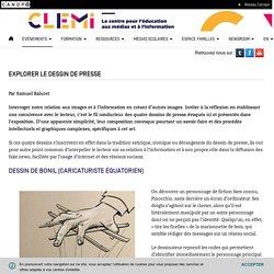 Explorer le dessin de presse- CLEMI