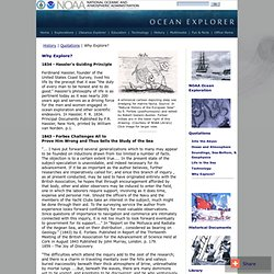 Ocean Explorer: History: Quotations: Why Explore