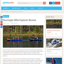 Sea Eagle 380x Explorer Review