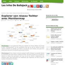 Explorer son réseau Twitter avec Mentionmap