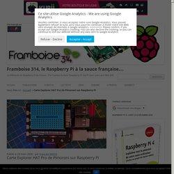 Carte Explorer HAT Pro de Pimoroni sur Raspberry Pi