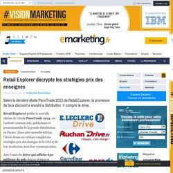 Retail Explorer décrypte les stratégies prix des enseignes