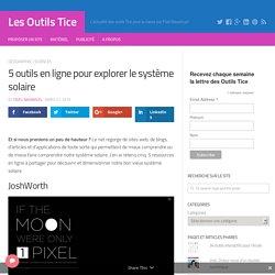 5 outils en ligne pour explorer le système solaire