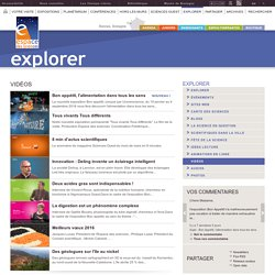 Explorer - Vidéos