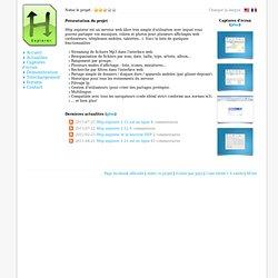 Projet libre Http Explorer webserver : Accueil