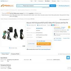Boscam Hd19 Explorerhd Full Hd 1080p Fpv Camera With Pan/tilt - Buy Full Hd 1080p Action Camera,Hd 108op Fpv Camera,Full Hd 1080p Action Camera Product on Alibaba