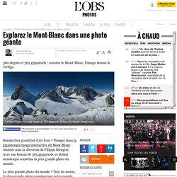 Explorez le Mont-Blanc dans une photo géante