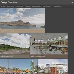 Google StreetView – Explorez des merveilles naturelles et des sites connus dans le monde entier