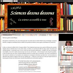 Explorez les dessous de la science: Serious game scientifique