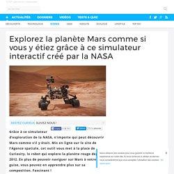 Explorez la planète Mars comme si vous y étiez grâce à ce simulateur interactif créé par la NASA