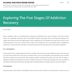 Exploring The Five Stages Of Addiction Recovery