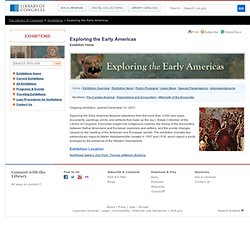 Interactives - Exploring the Early Americas -  Exhibitions
