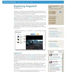 Exploring Angular2 - Branch and Bound