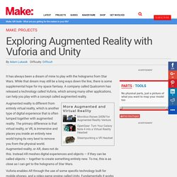 Exploring Augmented Reality with Vuforia and Unity