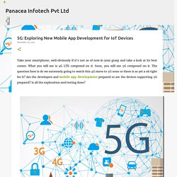 5G: Exploring New Mobile App Development for IoT Devices