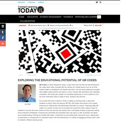 Exploring The Educational Potential of QR Codes