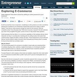 Exploring E-Commerce