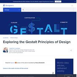 Exploring the Gestalt Principles of Design
