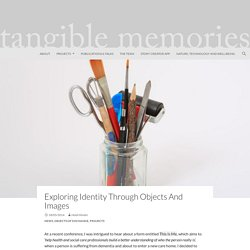 Exploring identity through objects and images