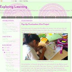 Pop-Up Punctuation Mini Project