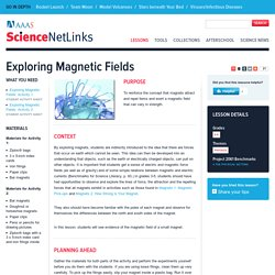 Exploring Magnetic Fields