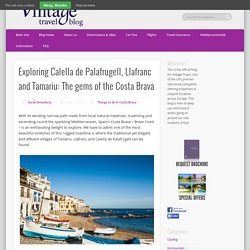 Exploring Calella de Palafrugell, Llafranc and Tamariu: The gems of the Costa Brava - Vintage Travel Blog