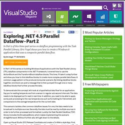 Exploring .NET 4.5 Parallel Dataflow - Part 2