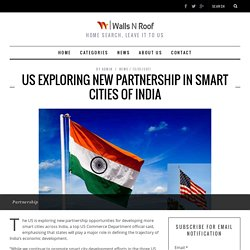 US exploring new partnership in smart cities of India