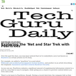 Exploring the 'Net and Star Trek with Pearltrees