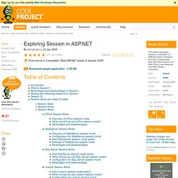 Exploring Session in ASP.NET