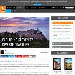 Exploring Slovenia's diverse coastline
