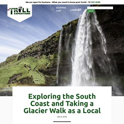 Exploring the South Coast and Taking a Glacier Walk as a Local
