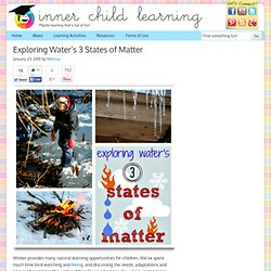 Exploring Water's 3 States of Matter