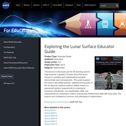 Exploring the Lunar Surface Educator Guide