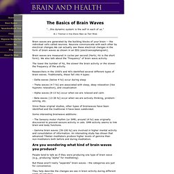 Exploring the Brain and Brain Waves