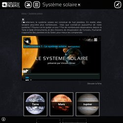 Explornova - Système solaire