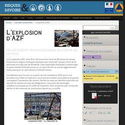 L'explosion d'AZF - Risques et Savoirs