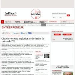 Cloud : vers une explosion de la chaîne de valeur de l'IT