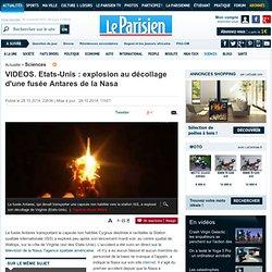 VIDEOS. Etats-Unis : explosion au décollage d'une fusée Antares de la Nasa