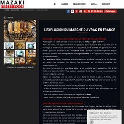 L'EXPLOSION DU MARCHÉ DU VRAC EN FRANCE Triporteur Mazaki - Mazaki Motor
