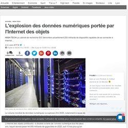 L'explosion des données numériques portée par l'Internet des objets