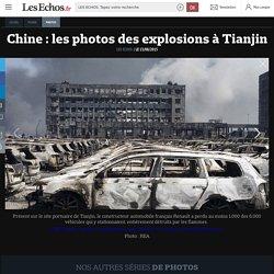 Chine : les photos des explosions à Tianjin, Diaporamas